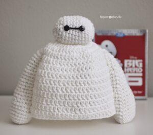 Gorro en Crochet Baymax