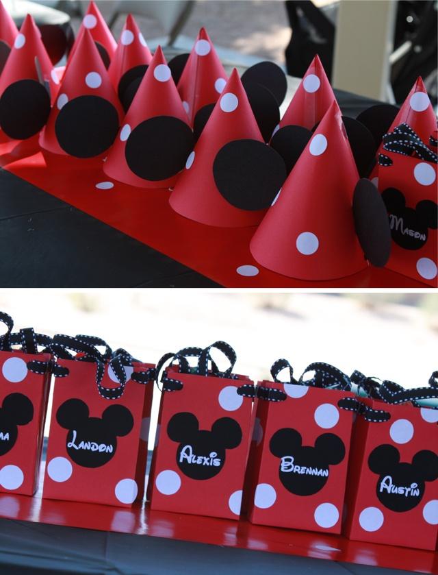 Fiesta Minnie Mouse Comida Y Decoración Telares