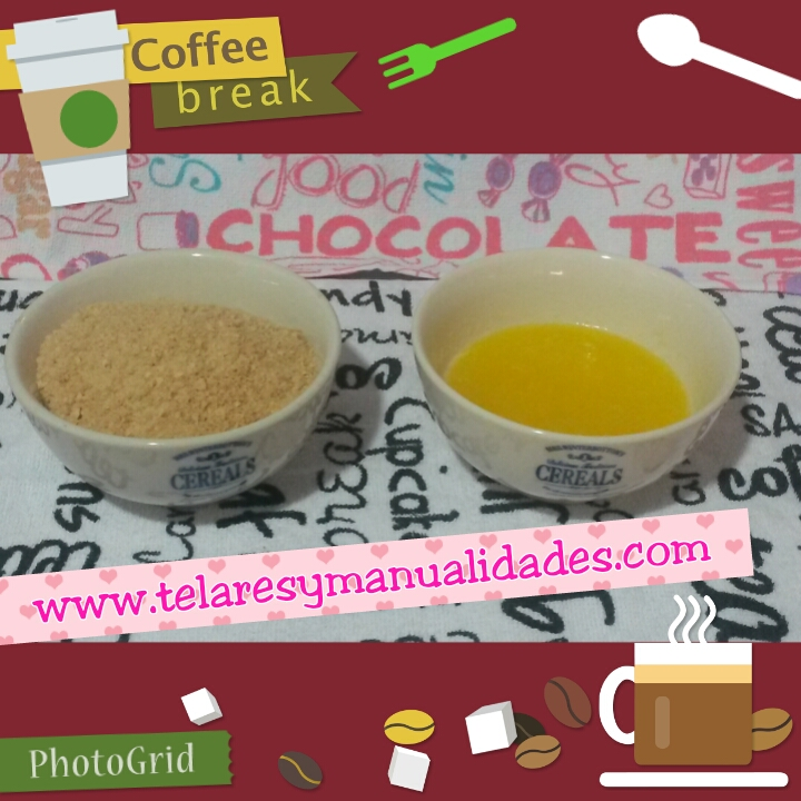 Preparación de la base del cheesecake sin horno - www.telaresymanualidades.com