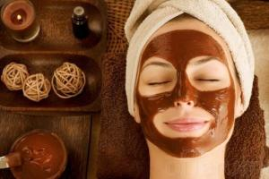 chocolaterapia facial casera