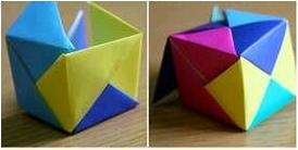 paso 9 al 10 caja en origami