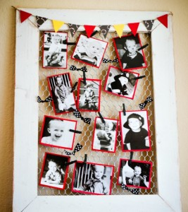 portarretrato diy DIY-Chicken-Wire-Frame-Tutorial-2