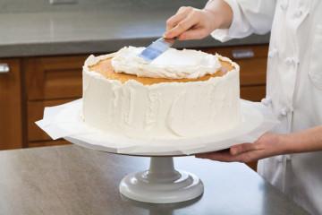 Montaje de torta