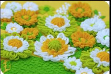 telar flor