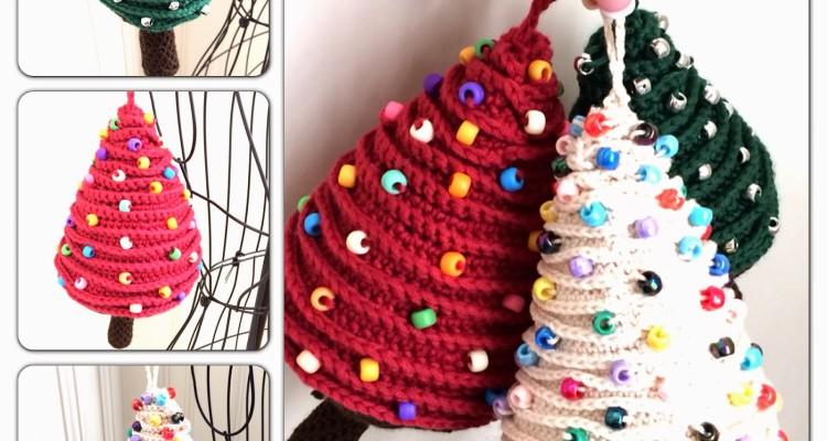 Como hacer un arbol de navidad tejido a crochet