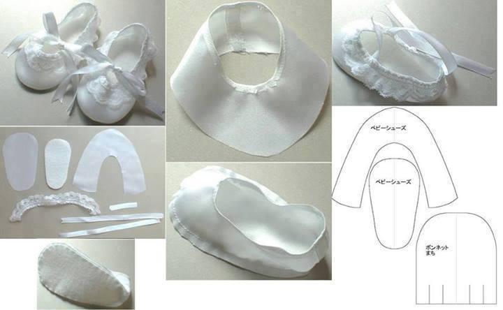 Patrones de zapatos para bebé 25 ideas! - Telares & Manualidades
