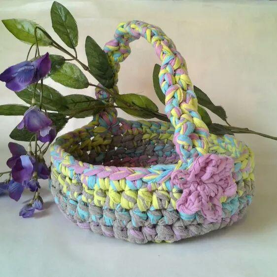 canasta crochet