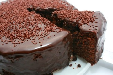 torta de chocolate sin leche ni huevo