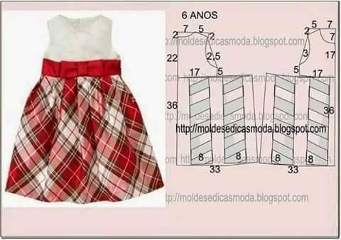 Costura 21 Patrones De Vestidos Para Niña Telares