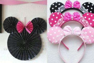 diadema para Fiesta Minnie Mouse