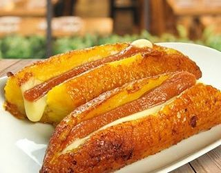 plátanos asados en olla express